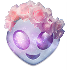 tumblr_static_flowercrown_galaxy_alien_emoji.png